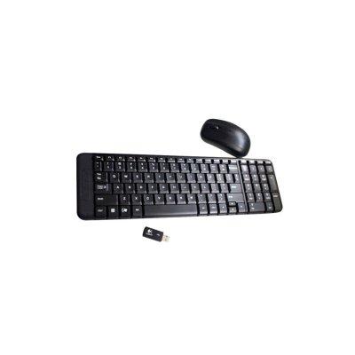 【叫我修吧】罗技(Logitech)MK220 无线光电键鼠套装