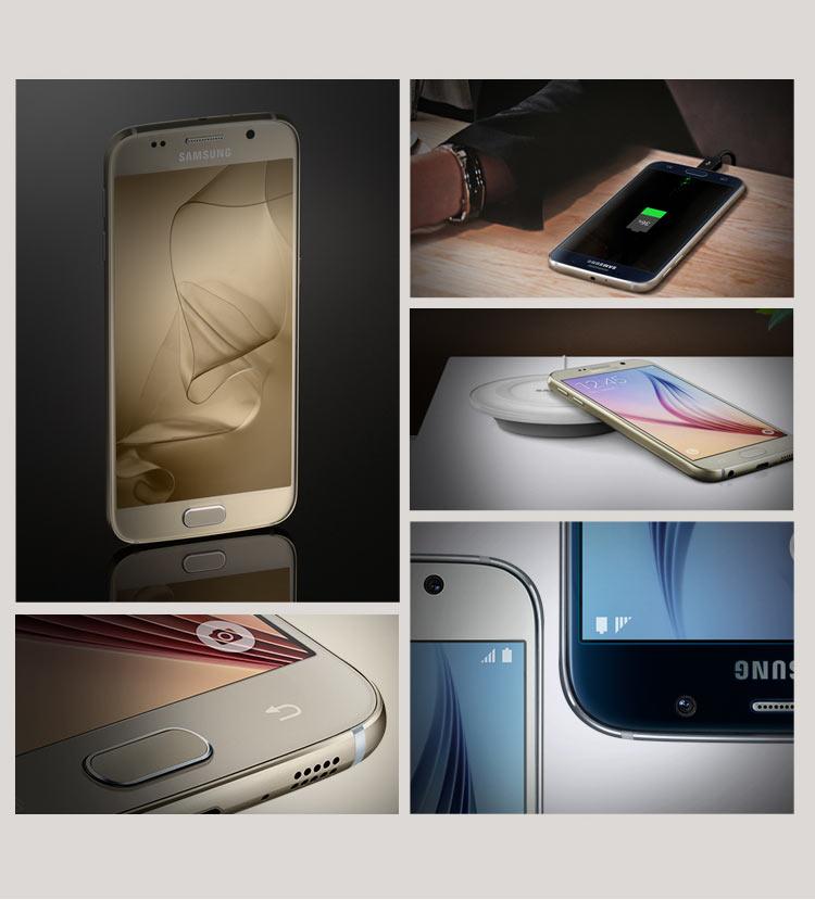 三星 galaxy s6 edge(g9250)手机,无线充电与急速充电
