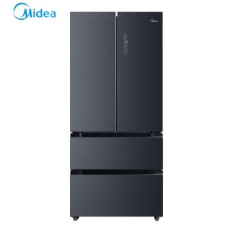 美的(Midea)BCD-508WTPZM(E) 19分钟急速净味 风冷无霜 一级能效 智能操控 变频节能法式多门电冰箱