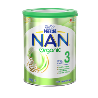 澳洲雀巢能恩NAN有机配方奶粉3段800g/罐装 1-3岁 含活性益生菌