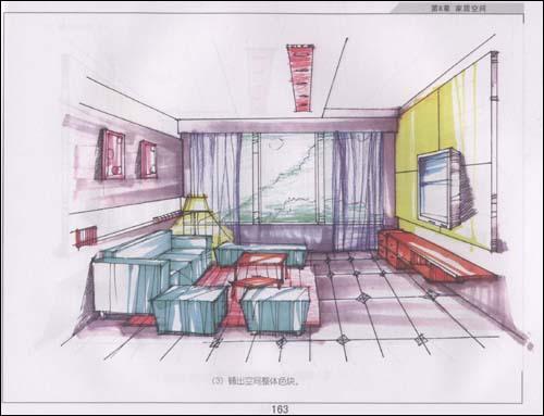 室内设计手绘效果表现