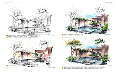 现代景观设计手绘表现