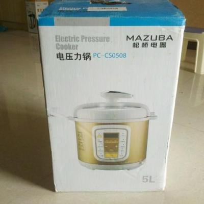 松桥电压力锅pc-cs0608【报价