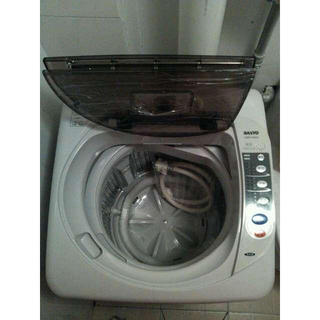 洗衣机甩干_三洋(sanyo) xqb50-m805z 5公斤 波轮洗衣机