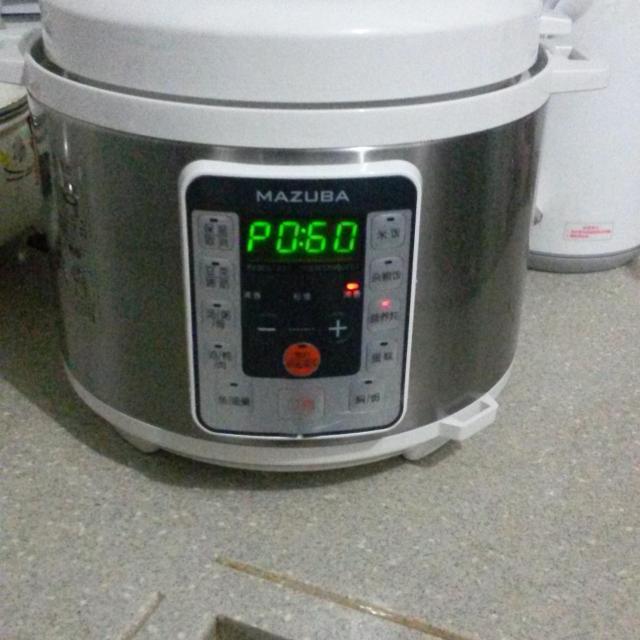 松桥电压力锅mpc-cs0510l晒单贴:完好包装与使用