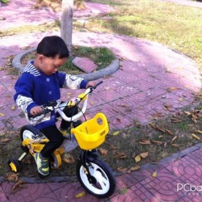 小龙哈彼儿童自行车lb1298qx-w-j108高清图片 实拍图