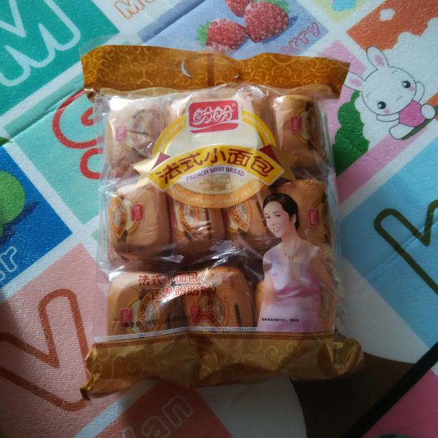 >盼盼 法式小面包(奶香味)44.>晒单详情图片