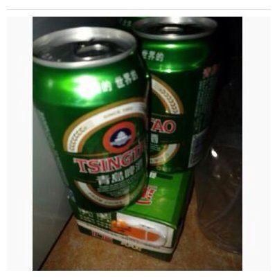 青岛啤酒经典10度听装500ml*12高清图片|实拍图 -苏宁
