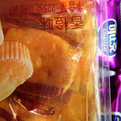达利园欧式蛋糕香橙味225g高清图片|实拍图