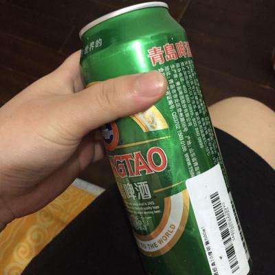青岛啤酒经典10度听装500ml*12高清图片|实拍图