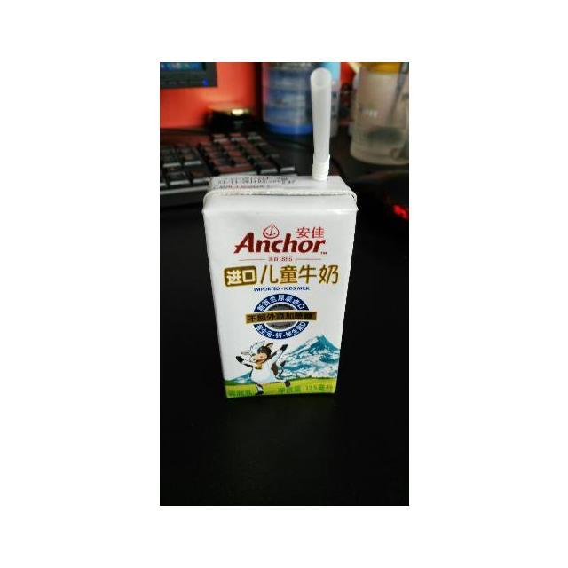 安佳 儿童牛奶 125ml晒单贴:宝宝说很好喝
