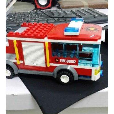 乐高 大型消防车 60002 积木玩具