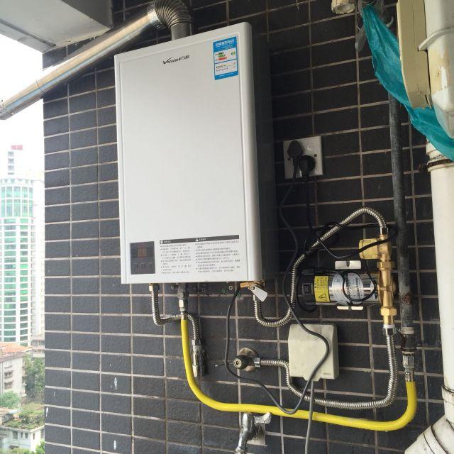 万和燃气热水器jsq20-10et10评价: 安装这个燃气热水!图片