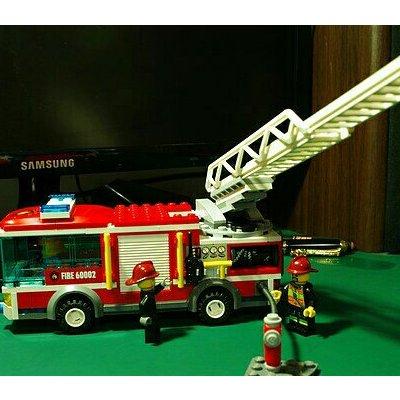 自营乐高 大型消防车 60002 积木玩具
