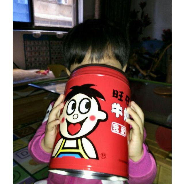 旺旺 旺仔牛奶糖(原味)储蓄罐装518g糖果超级赞的,也图片