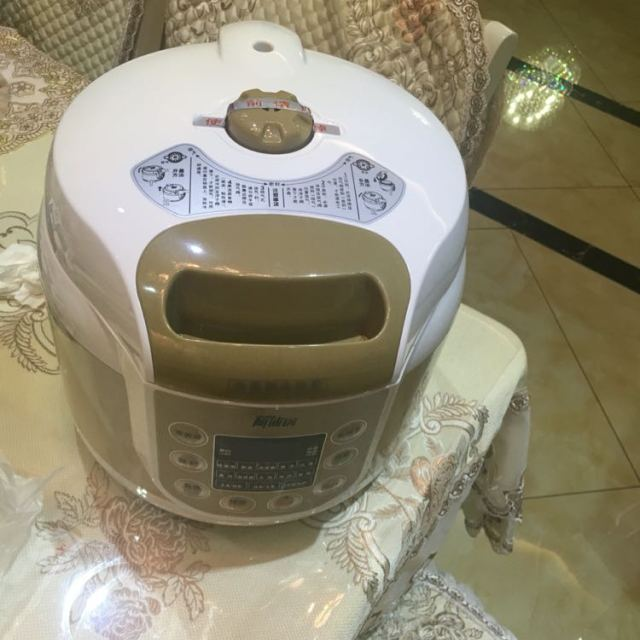 luby/洛贝 y50-90wk1电压力锅智能双胆阿迪锅压力锅煲