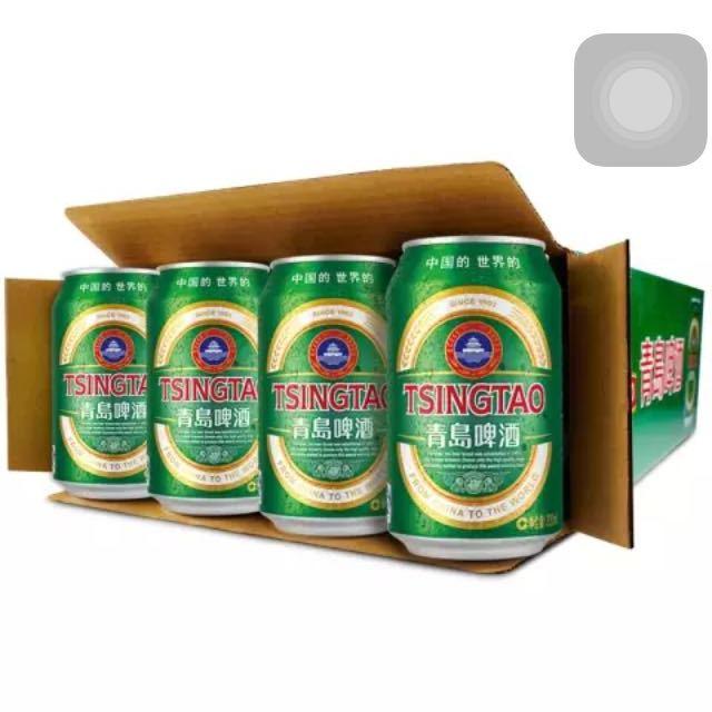 【苏宁易购超市】青岛啤酒 经典(11度)330*24罐 箱装