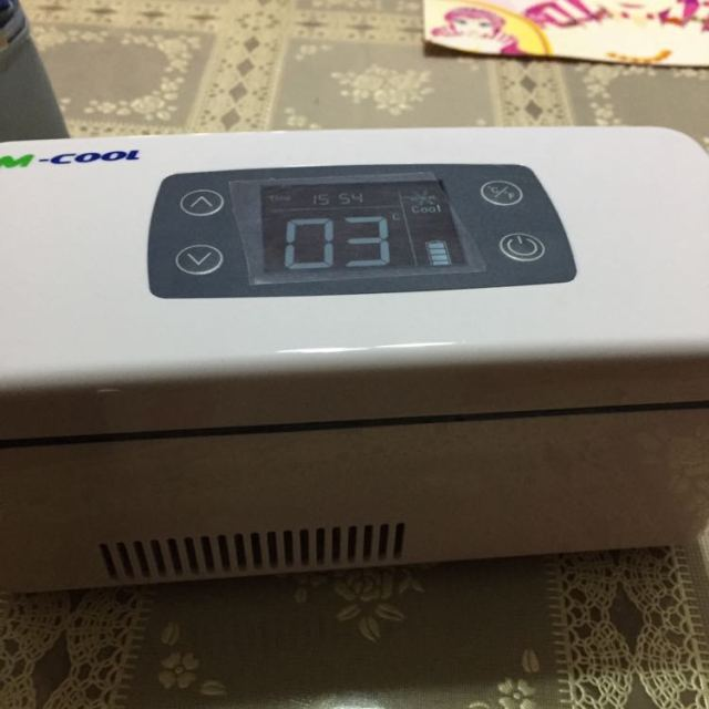 美库胰岛素冷藏盒便携车载充电冷藏箱迷你恒温小冰箱mcool b款