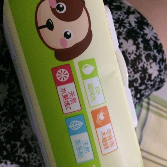 可爱多湿巾湿纸巾婴儿湿巾新生儿湿巾手口湿巾100片盖装*3包【苏宁