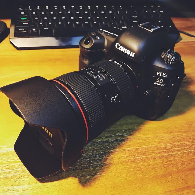 佳能(canon) 5d mark iv5d4 单反相机ef 24-70mm f2.8l Ⅱusm晒单图图片