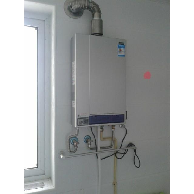 万和热水器jsq21-12e(凝智)12升凝智冷凝恒温型(拉丝银)(12t)图片