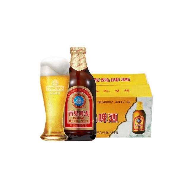 > 青岛啤酒(小棕金)(11度)296ml*24瓶商品评价 > 很好