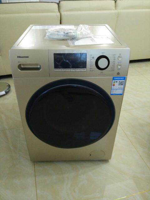 海信变频滚筒洗衣机