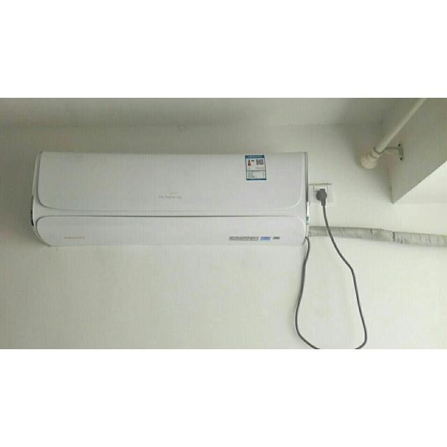 > tcl空调 kfrd-35gw/hc13小风神商品评价 > 效果好,速度快,师傅.图片