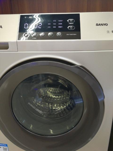 三洋洗衣机滚筒烘干
