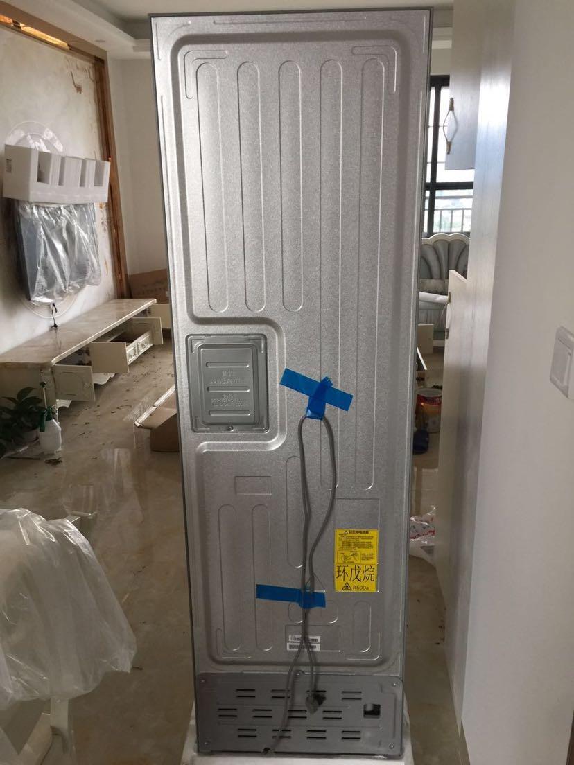海尔冰bcd-216评价  2017-07-30 收到货了,物流还可以,送货进门,冰箱