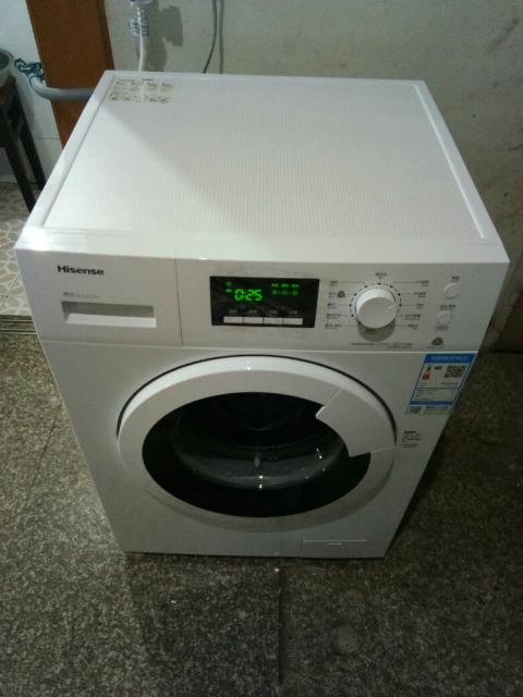 海信8kg全自动洗衣机