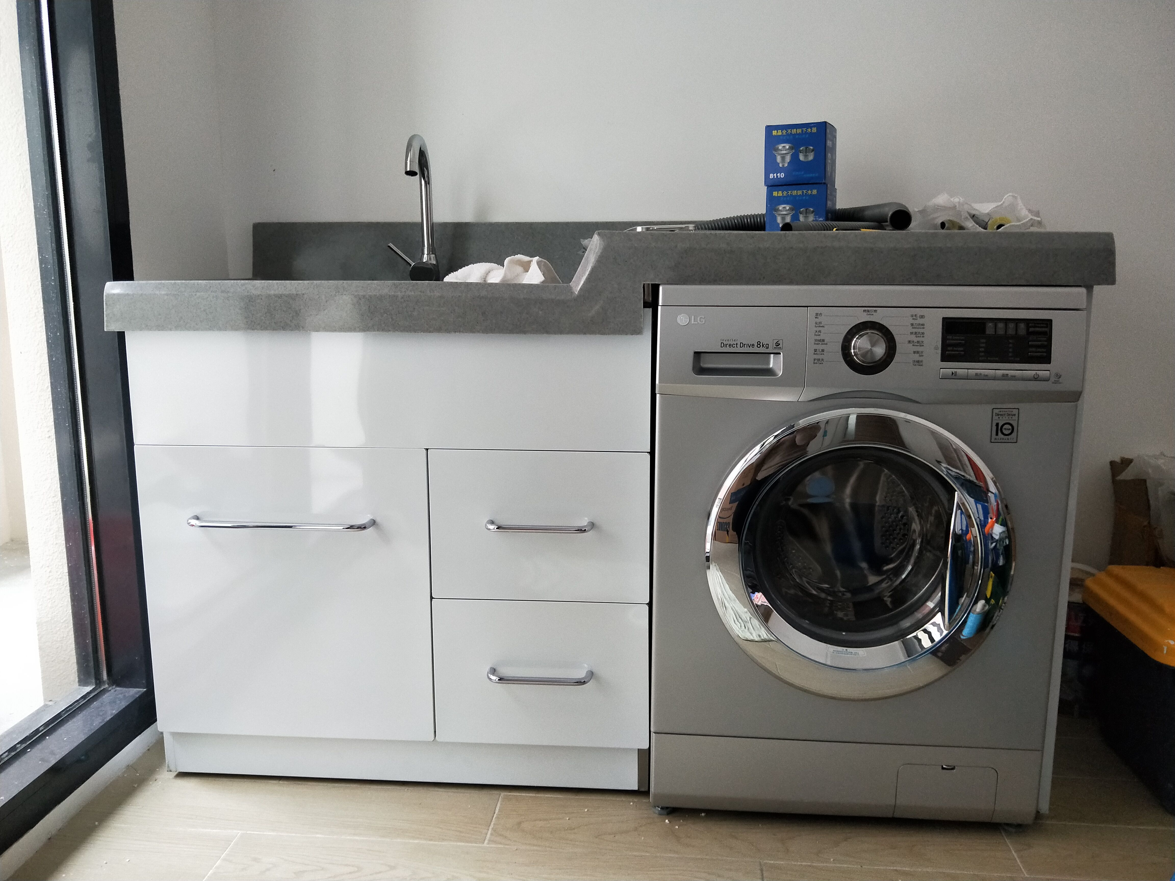 lg滚筒洗衣机8kg