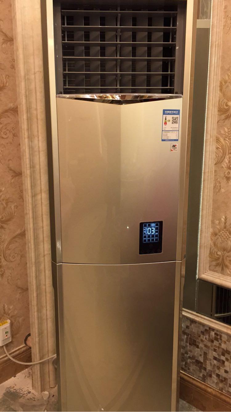 三菱重工 3匹 智能 变频2级 空调柜机 kfr-72lw/ldv1gbp 香槟金晒单图