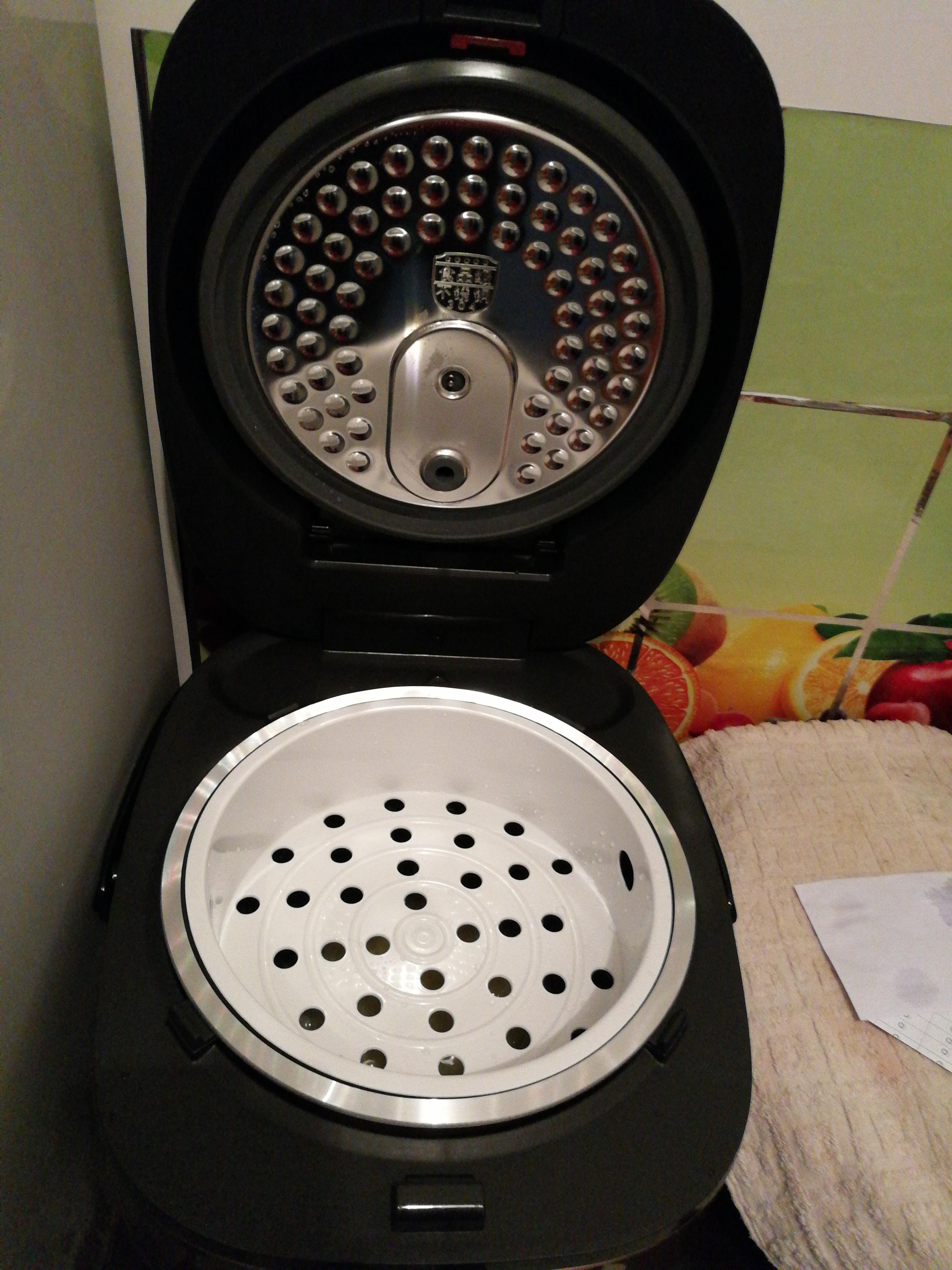 苏泊尔(supor) cfxb40hc17-130电饭煲 4升ih电磁加热 球釜电饭锅家用
