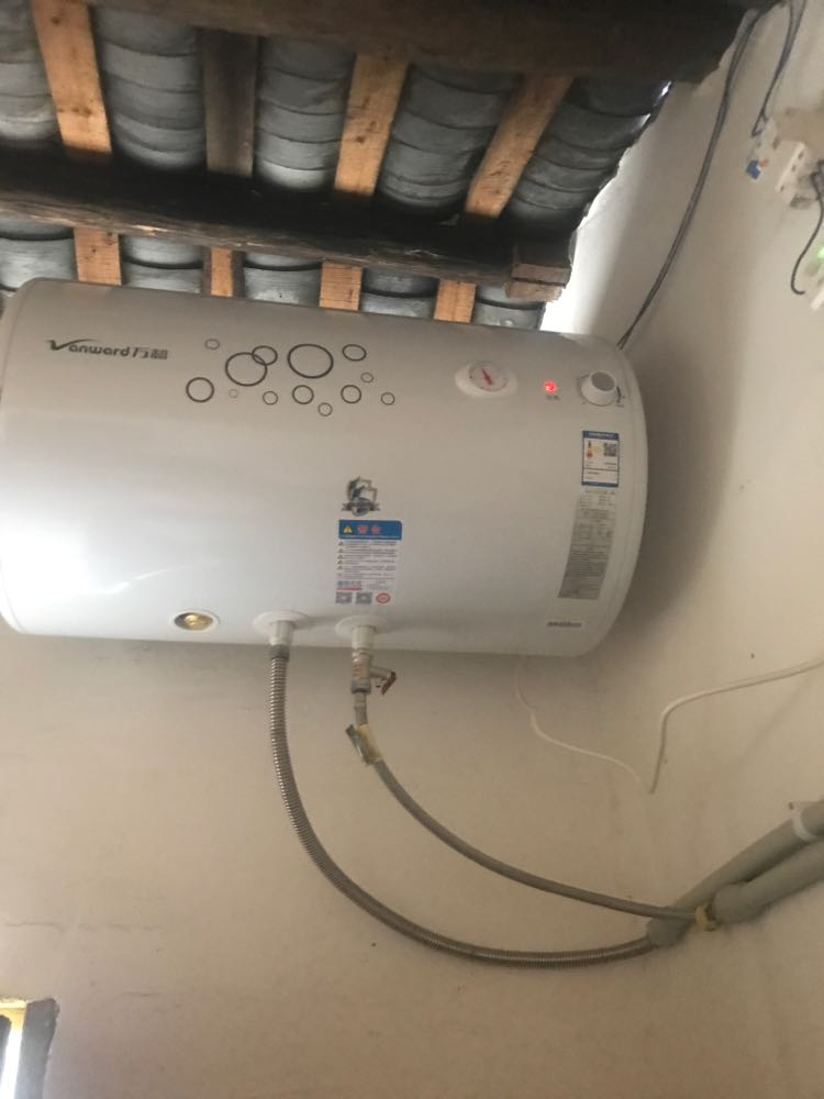 万和(vanward)电热水器 e80-q1w1-22 80升双盾温显电热水器80l晒单图图片