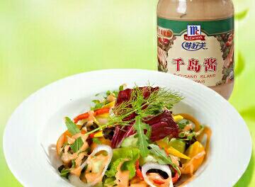 沙拉酱水果蔬菜千岛酱