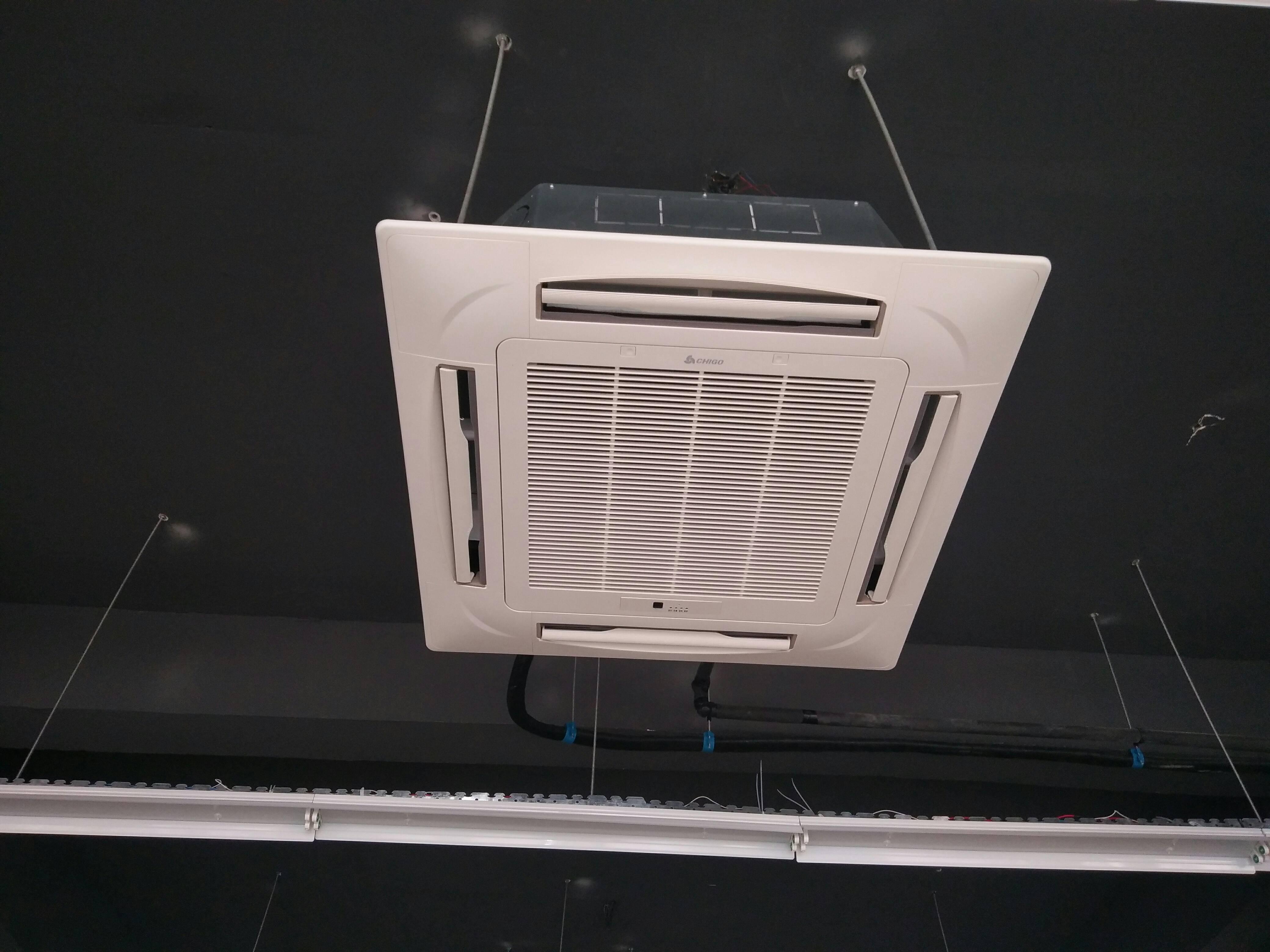 志高(chigo) 中央空调吸顶天花机3匹冷暖商用空调嵌入式天井机商铺