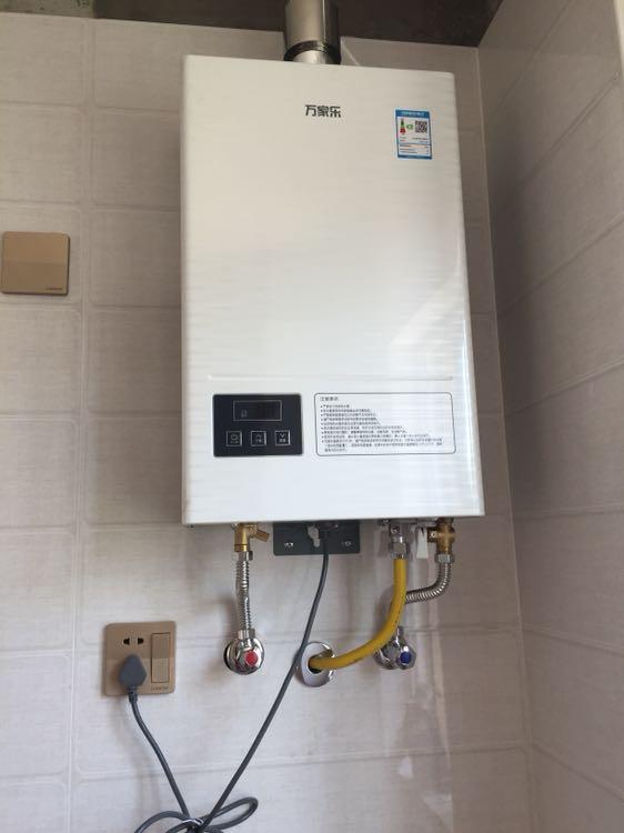 燃气热水器爆款评价  2018-08-20 货收到了,也安装完成,万家乐热水器图片