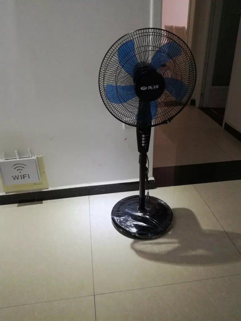 先锋(singfun)电风扇 家用落地扇 遥控定时节能风扇台式扇三挡风速电