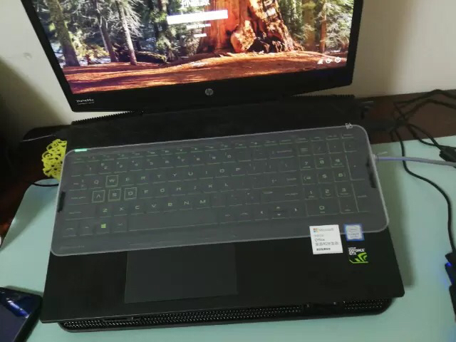 防尘硅胶贴膜 联想华硕戴尔宏基惠普笔记本键盘膜通用透明 15寸电脑