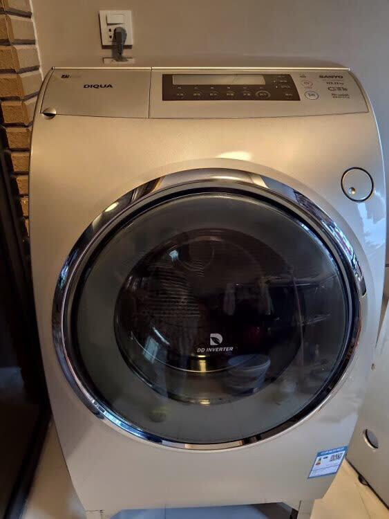洗干一体机 空气洗 甩干机家用大容量 全自动洗衣机 dg-l100588bhc