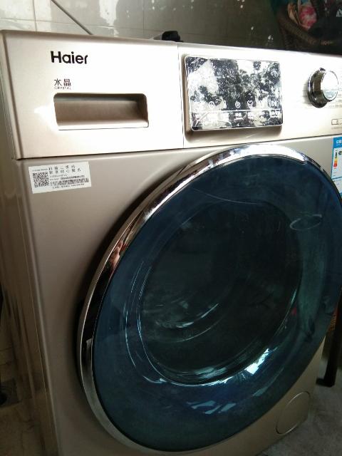 洗干一体机直驱变频烘干衣机空气洗10公斤家用全自动洗衣机 海尔g