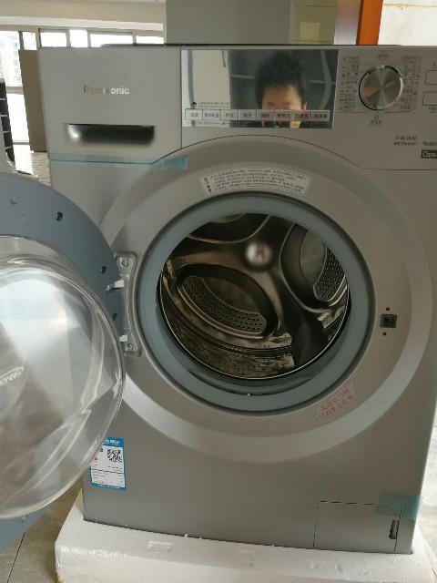 松下(panasonic)全自动滚筒洗衣机变频杀菌 洗烘一体机 洗干一体机