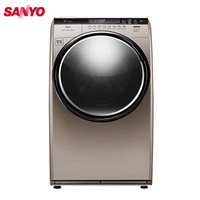 三洋(sanyo) dg-l8033bcix 8公斤 变频空气洗wifi智能 滚筒洗衣机(惠
