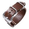 傲途表带 代用沛纳海复古男士表带 手工真皮手表配件 24mm