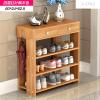 A-STYLE家用多层门厅柜木质小鞋架子鞋柜简易鞋架组装门厅柜经济型鞋橱子