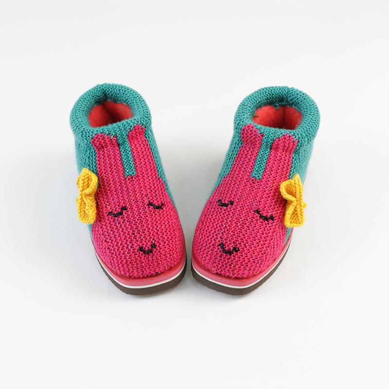 鞋帮手工编织视频棉鞋视频拖鞋织法图案毛线教vr会卡棉鞋图片
