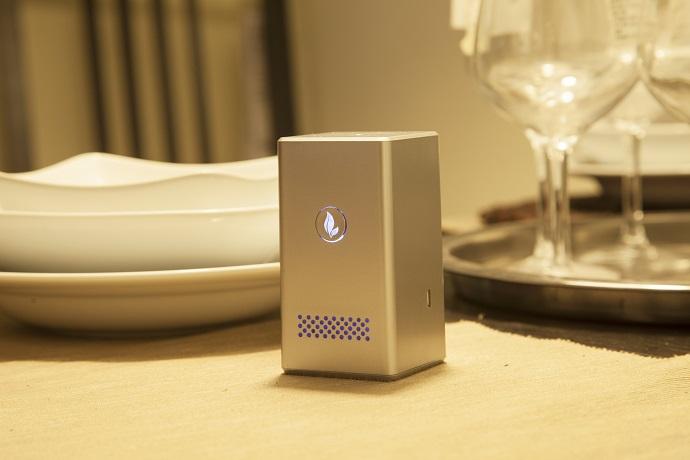 首款无线便携式icave小清新空气监测仪