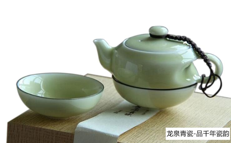 世遗-龙泉青瓷茶具
