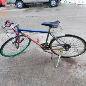 公路赛自行车